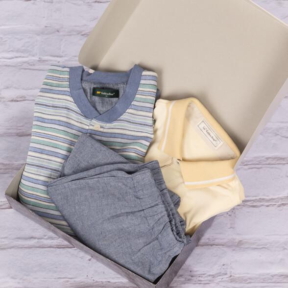 ニッポンのポロシャツ × パジャマセット