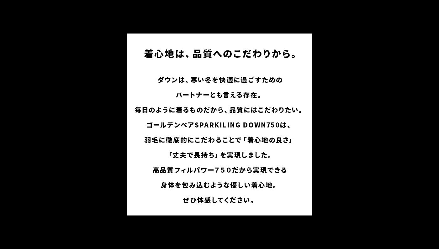 秋冬アウタースパークリングダウン750のご紹介