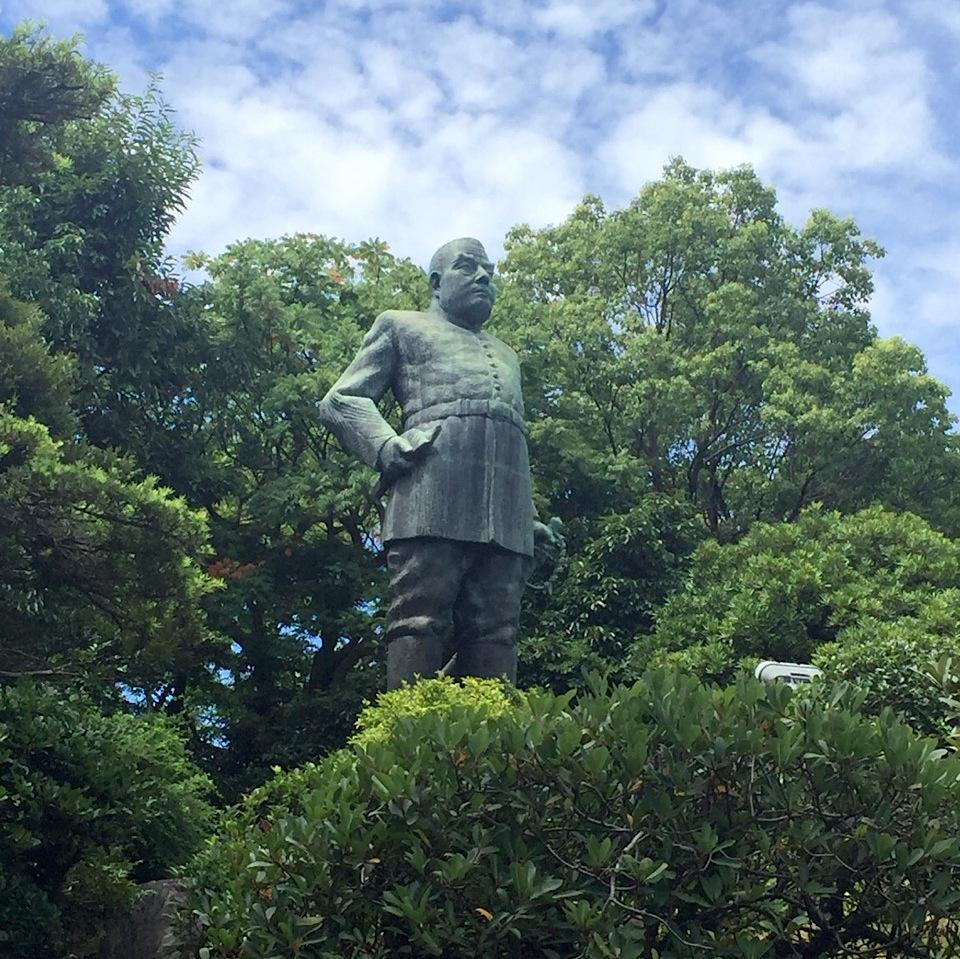 鹿児島の西郷隆盛の像