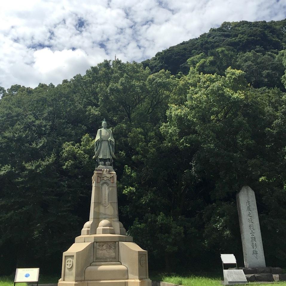 鹿児島の五代友厚の像
