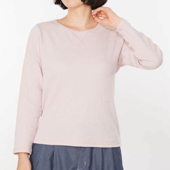 ワッフル素材インナーTシャツ
