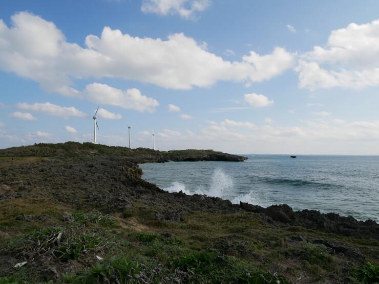 風力発電の巨大風車