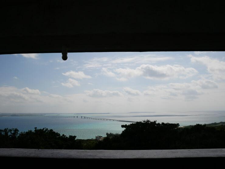 牧山展望台からの眺望
