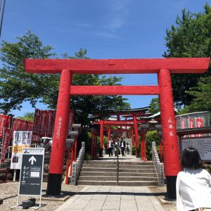 犬山にある三光稲荷神社