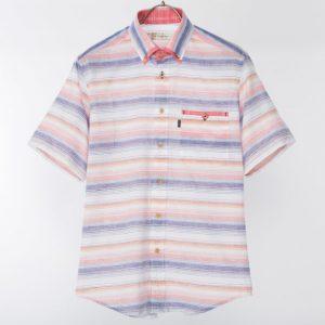 半袖切替BDシャツ