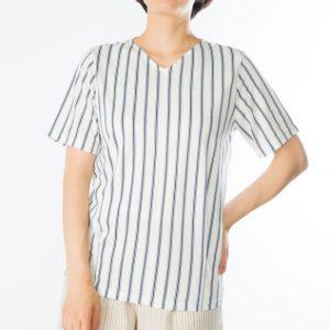ストライプ半袖Tシャツ