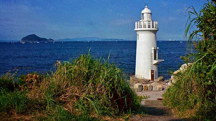 愛知の伊良子岬灯台