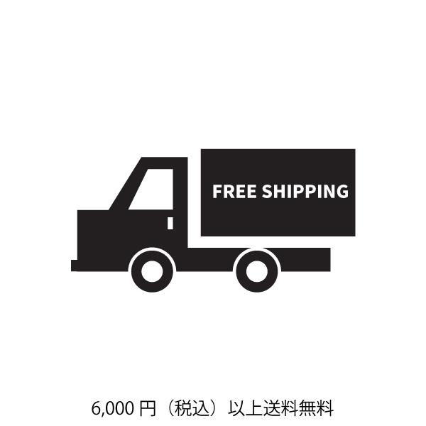 ¥6000以上送料無料